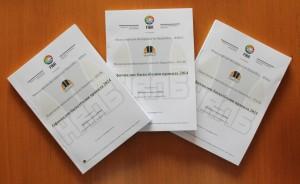 Книжка, съдържаща Официалните баскетболни правила на ФИБА + Официалните тълкувания към правилата на ФИБА, които влизат в сила от 01.10.2014 година - 10.00 лева